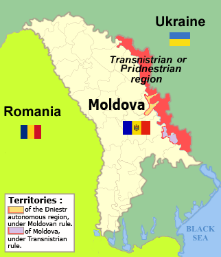 Are Abkhazia South Ossetia And Transnistria Under Threat Of - South ossetia map