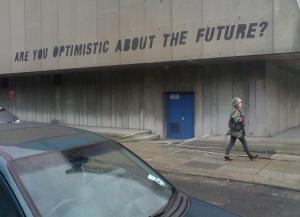 are you optimistic about the future