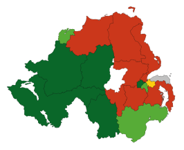 NorthernIrelandParliamentaryConstituency2010Results.svg